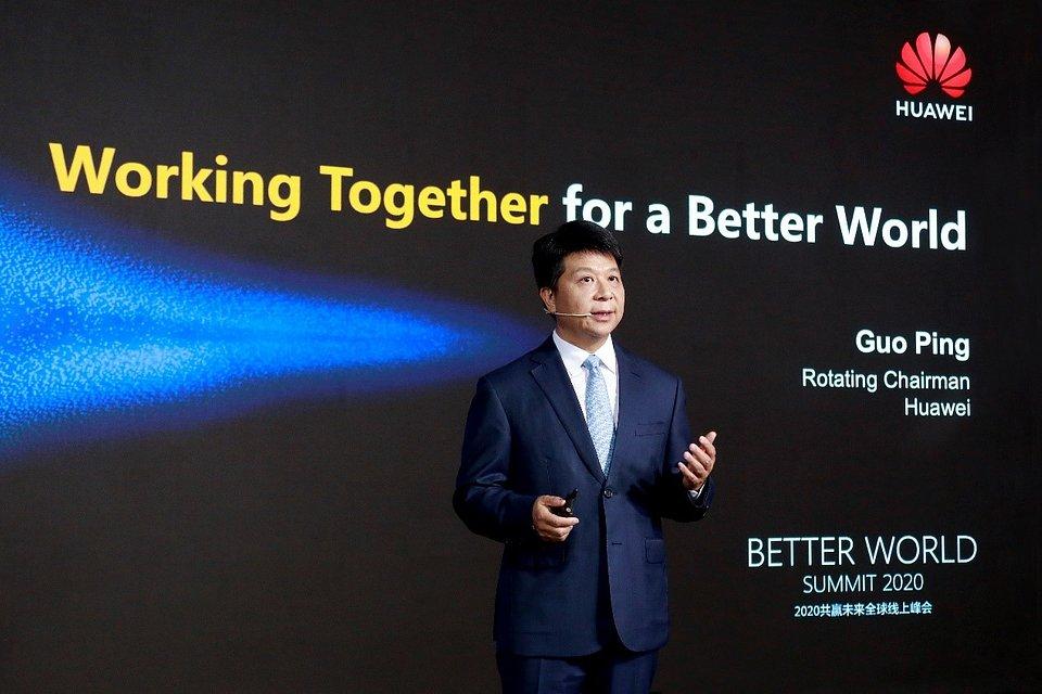 Guo Ping mówi o komercyjnym sukcesie 5G podczas Better World Summit 2020