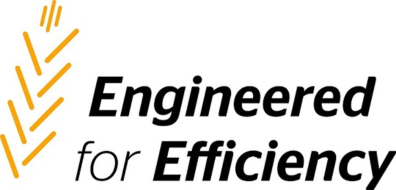 "Logotyp ""Engineered for Efficiency"""