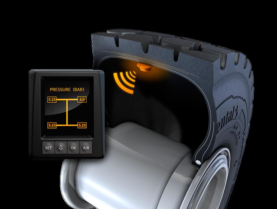 Opona Continental EM-Master wyposażona w czujnik ContiPressureCheck™