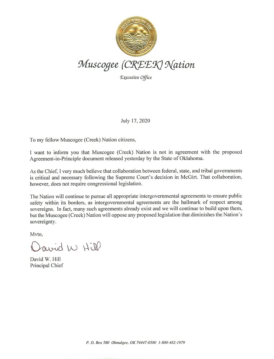Letter proposed agreeement in principal with State.jpg