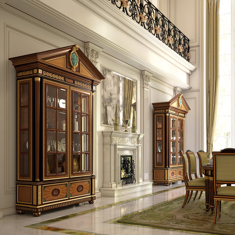 Armando Rho_dining room (detail)