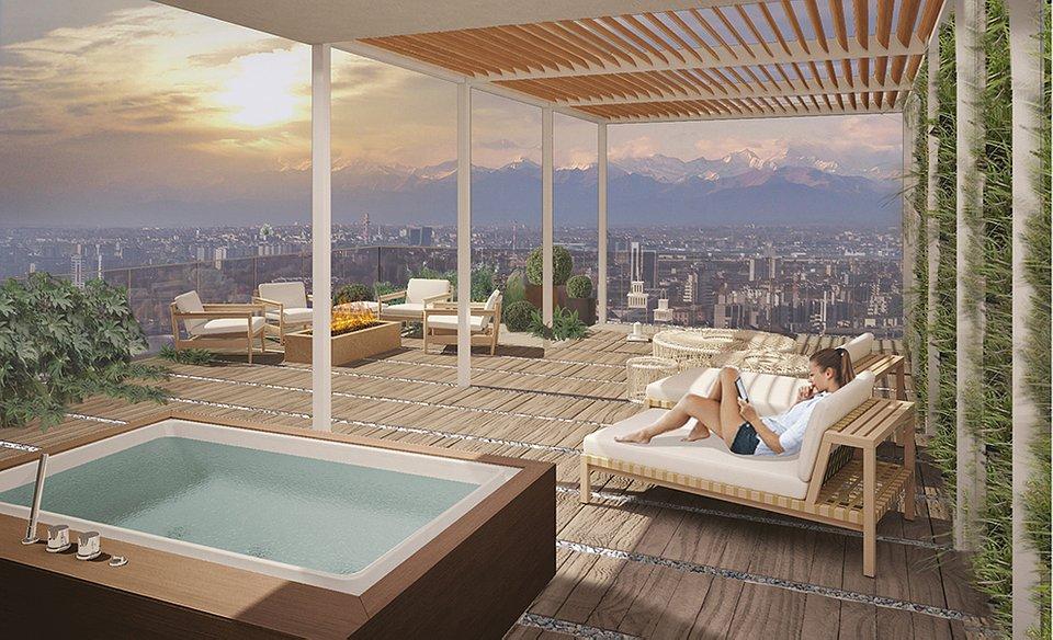 Roof Milano Verticale