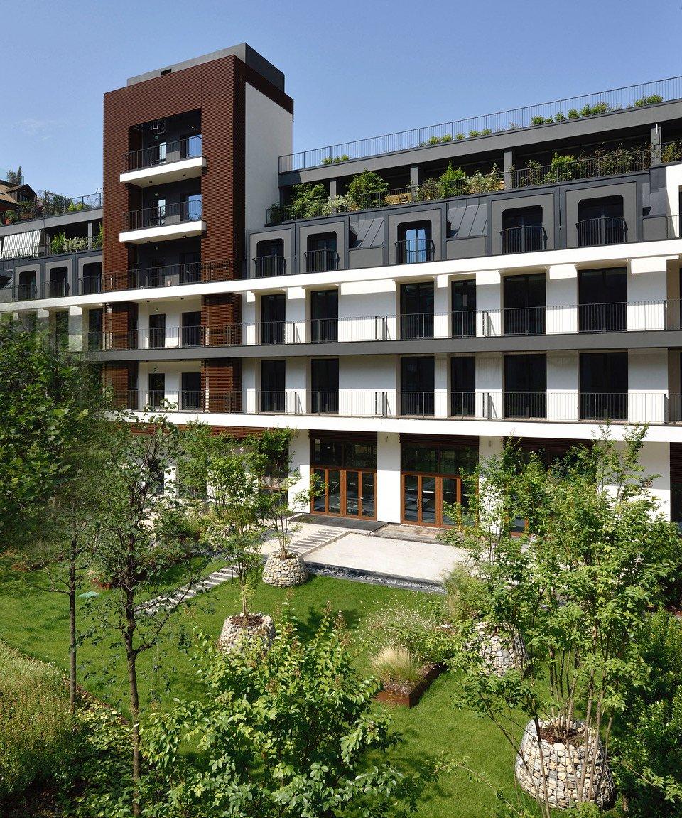 Giardino interno Milano Verticale