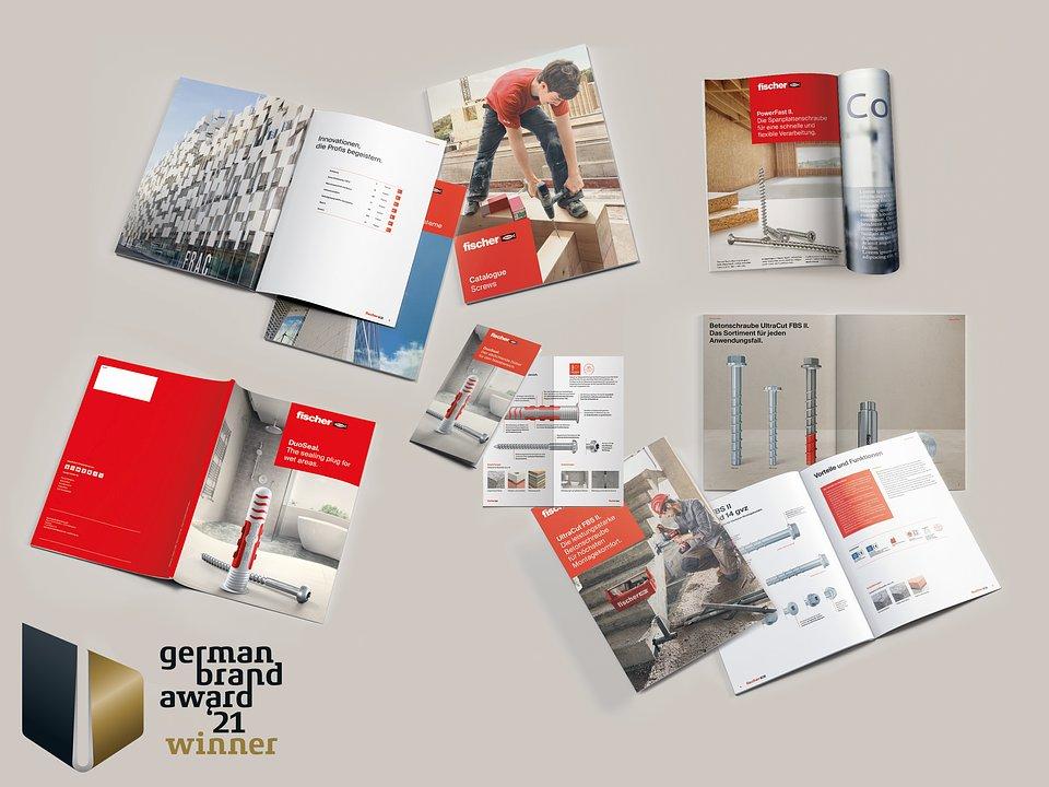 """W oparciu o nowy model zarządzania marką firma fischer zmieniła swój wizerunek korporacyjny i wzmocniła markę. Jury German Brand Awards uhonorowało fischer zwycięzkim tytułem w kategorii """"Brand Design – Doskonałość w strategii i tworzeniu marki"""". Zdjęcie: fischer"""