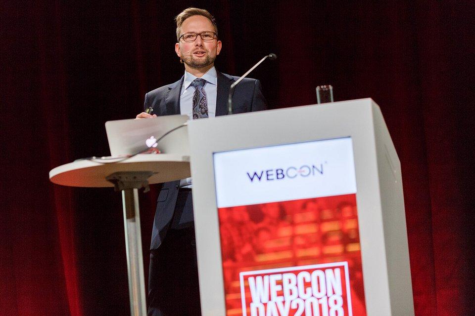 Sesję Keynote poprowadzi Łukasz Wróbel, CBDO i SVP w WEBCON.