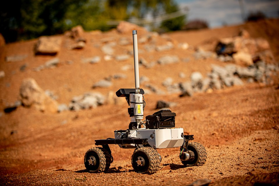 During #ERC2020 teams were using an innovative remote-robot management platform and mobile robots