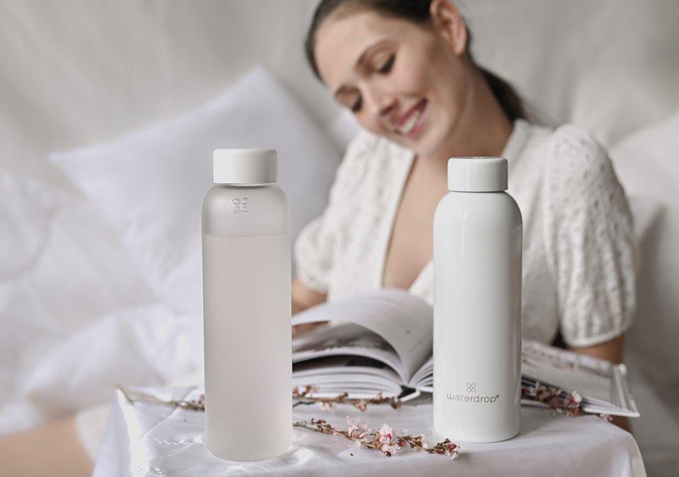 Butelki z kolekcji SHIRO/ fot. Waterdrop