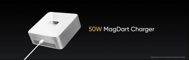 Na grafice ładowarka realme MagDart Charger 50W