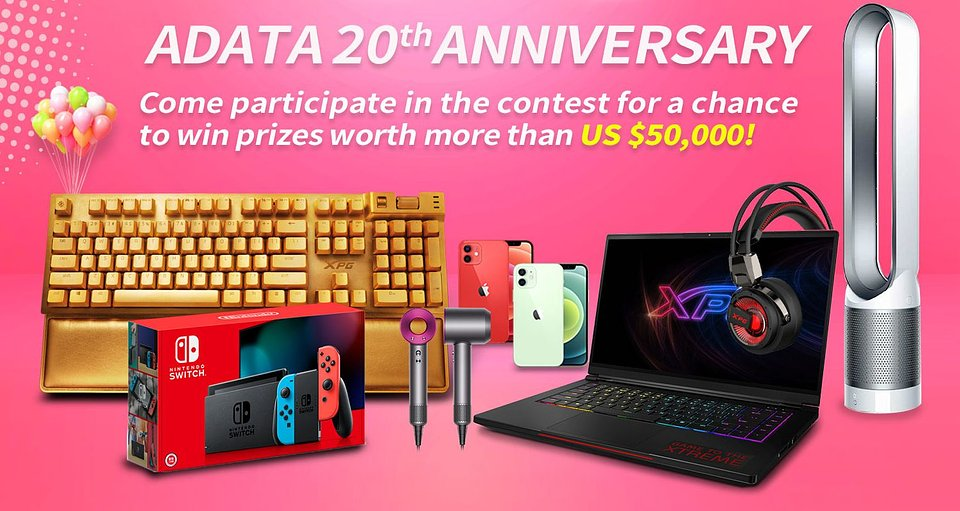 2ADATA 20th anniversary digital campaign_US$50,000 worth of prizes are up for grabs!.jpg