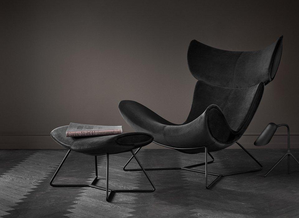 Fotel Imola, cena od 5.759,- Podnóżek Imola, cena od 2.819,-