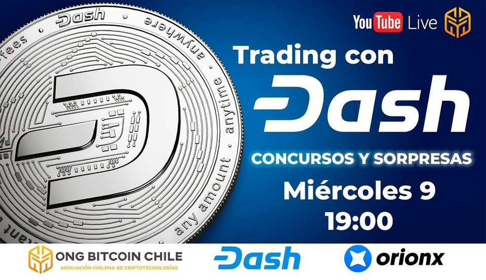 Dash con Trading ONG Bitcion Chile Orionx.JPG