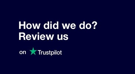 Leave us a review and share your experience. Thank you for your support.