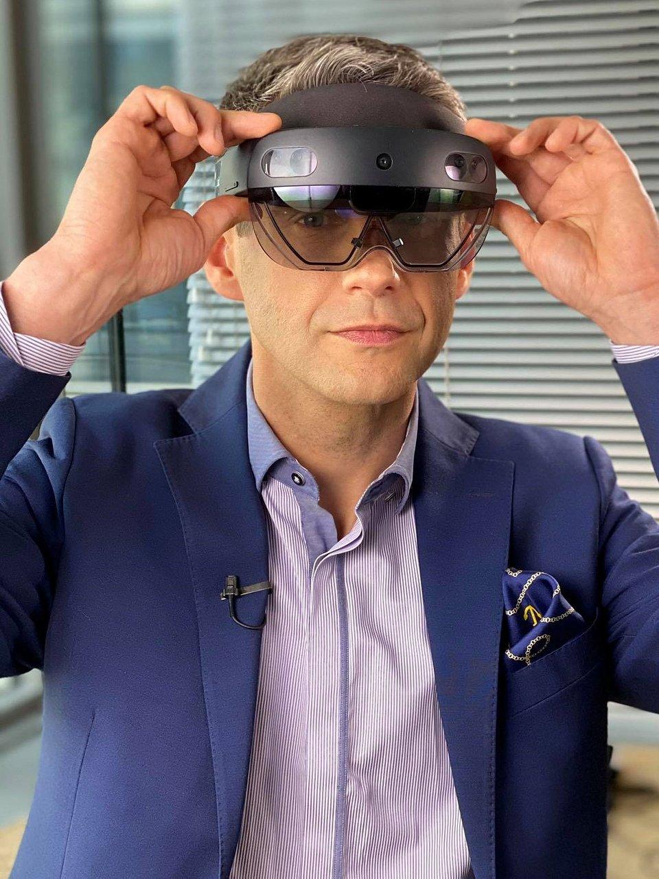 Przemysław Budnicki, CEO Holo4Labs