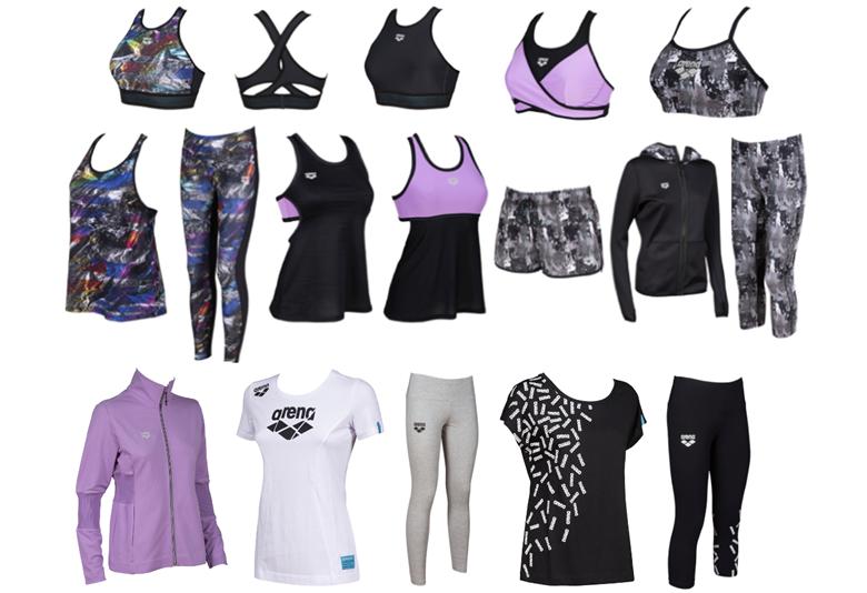 arena Sportswear SS21_Donna