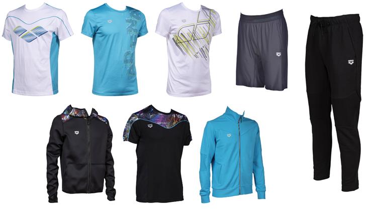 arena Sportswear SS21_Uomo
