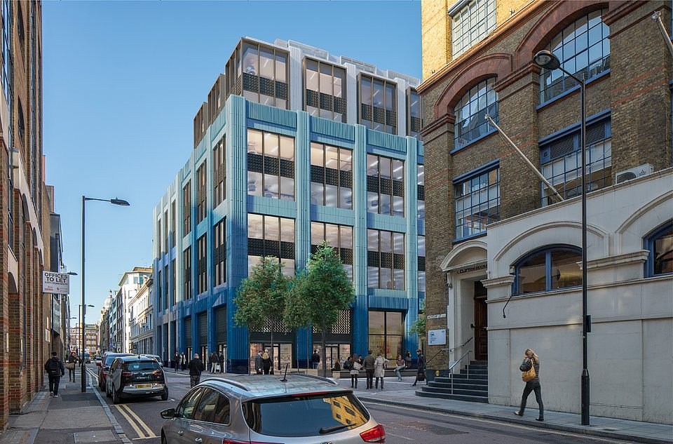 CGI: Located on the prominent corner location of Worship Street and Clifton Street, Quick & Tower House embodies a c.135,000 sq ft commercial redevelopment opportunity.