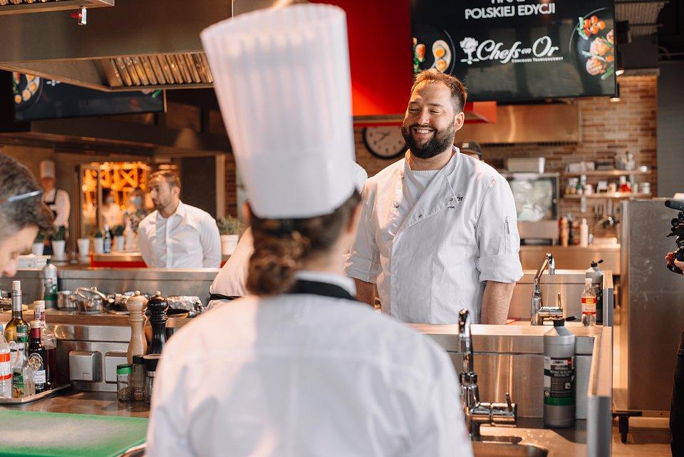 Jan Kuroń nie krył zadowolenia z poziomu i przebiegu finału polskiej edycji konkursu Les Chefs en Or.