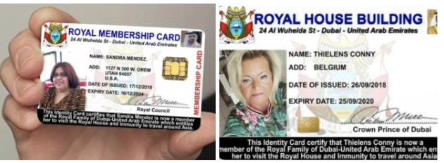 Examples of women who obtained ID's.
