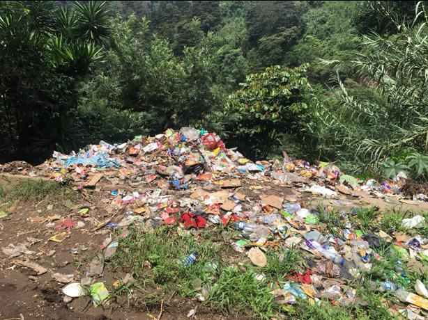 Problemem, z którym zmaga się Gwatemala, są gigantyczne ilości śmieci.