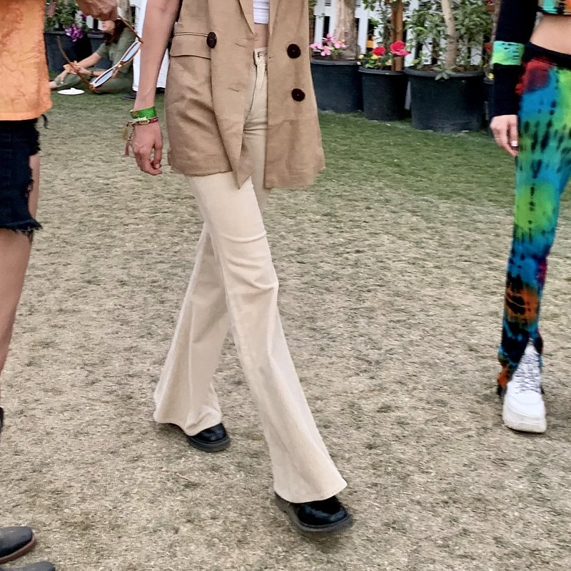 Gigi Hadid wearing Mango waistcoat at Coachella - Rights from 15042019 PR+SM WW 1 - MEGA Agency.jpg