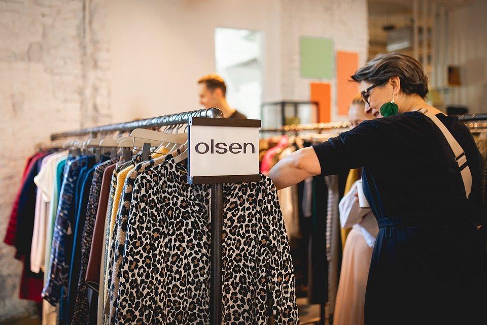 Olsen AW19/20. Prezentacja kolekcji podczas Open Day Aliganzy.
