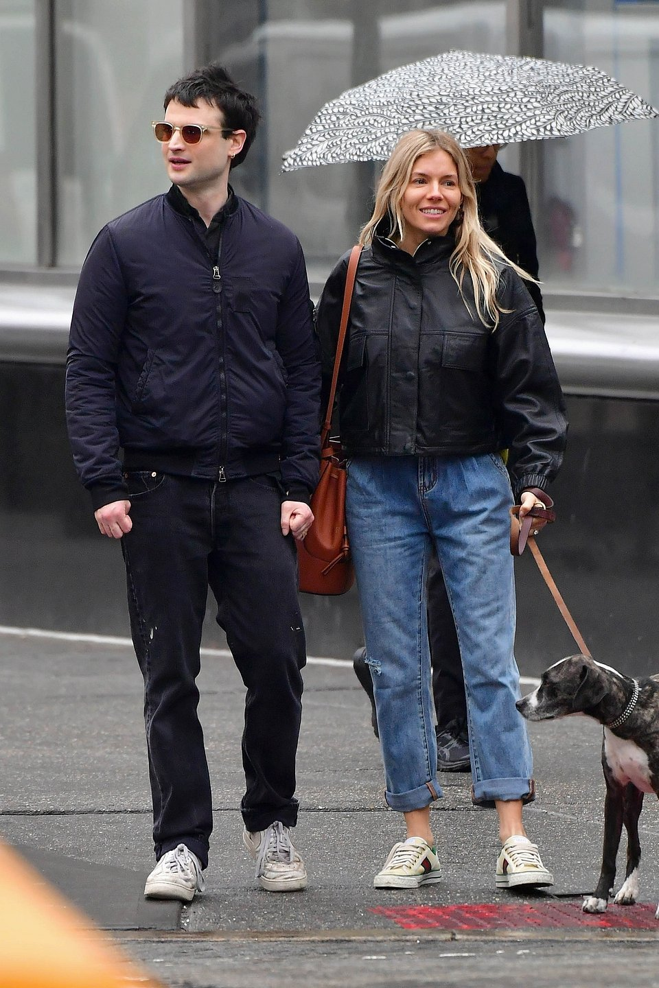 Sienna Miller wearing Mango coat - Rights from Backgrid 27022020 pr+ social media  PA images..jpg