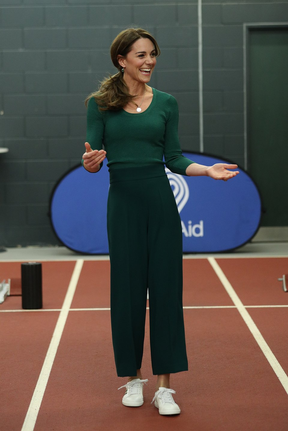Kate Middleton wearing Mango jumper - Right from PA pictures 27022020 pr+social media.jpg
