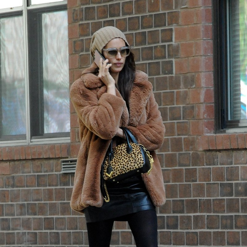 Irina Shayk wears MANGO coat & skirt in NKY - Rights from 21102018 PR+SM WW.jpg
