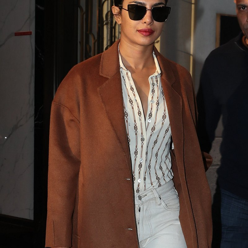 Priyanka Chopra wears MANGO coat in NY.jpg