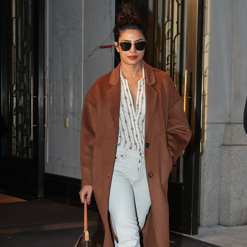 Priyanka Chopra wears MANGO coat in NY (2).jpg