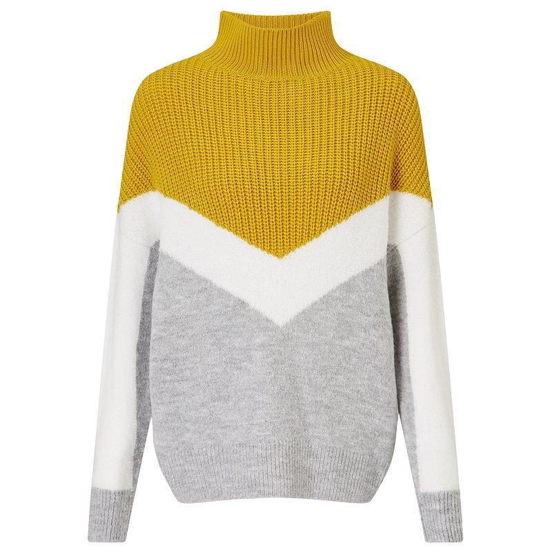 F&F_yellow mix knit jumper_89,99zł.jpg