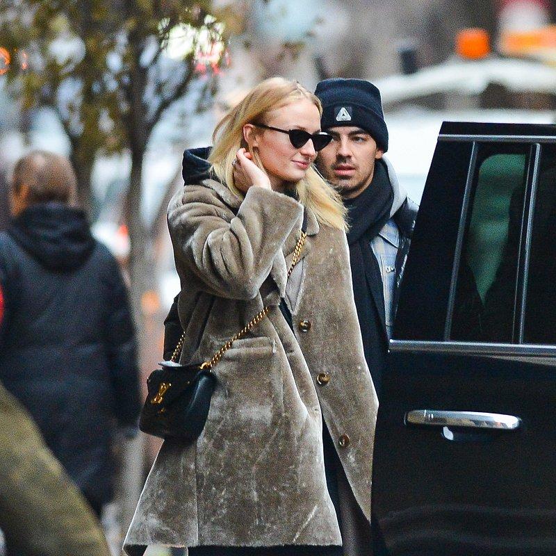Sophie Turner MANGO coat in NY.jpg