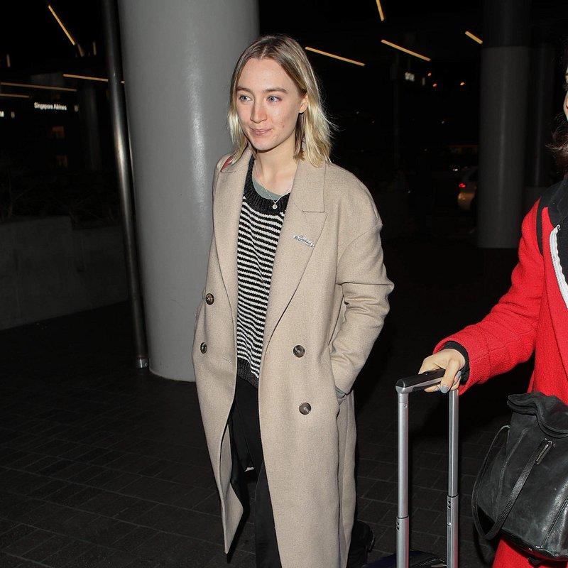 Saoirse Ronan mango coat LA - rights from 09012019 PR+SM WW.jpg
