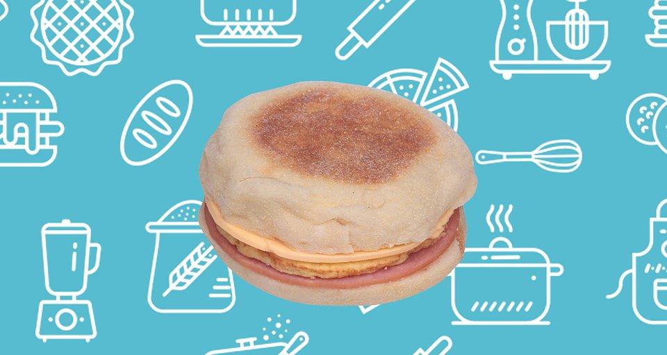 Jimmy Dean Egg and Cheese Muffin Canadian Bacon Breakfast Sandwich.jpg