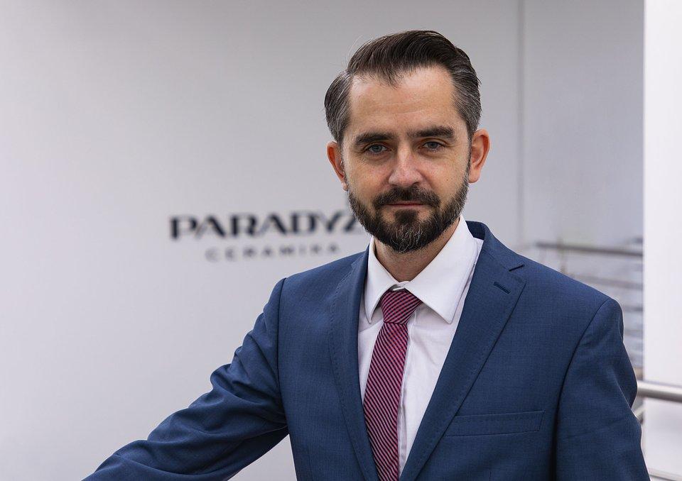 Jurand Brzeziński_prezes zarządu Ceramiki Paradyż.jpg
