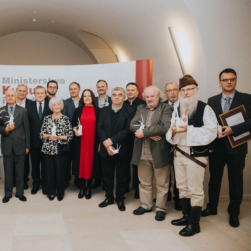 Laureaci dorocznej nagrody Ministra Kultury i Dziedzictwa Narodowego.jpg