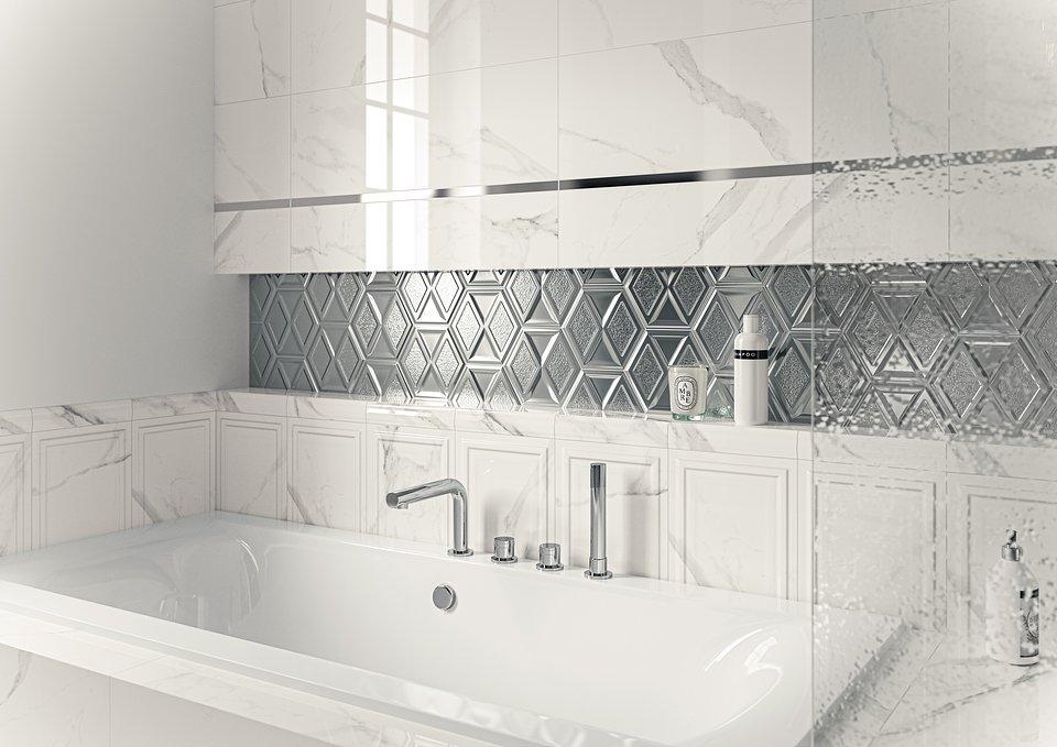 Morning-Bianco-struktura-25x75_Silver-Heksagon-17,1x19,8_Morning-Bianco-Heksagon_Morning-Bianco-kształtka-5x25_CALACATTA-mat-59,8x59,8_detal1.jpg