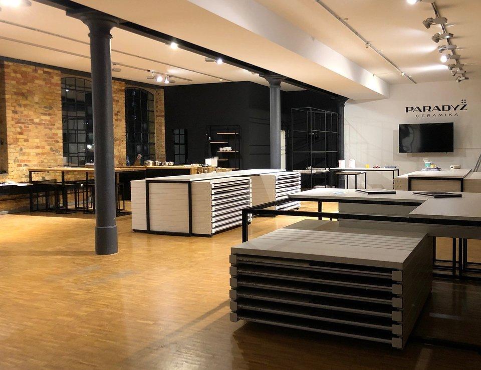 Showroom Ceramiki Paradyz Deutschland GmbH w Offenbach