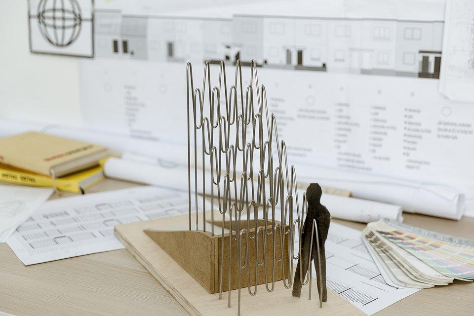 Model rzeźby autorstwa Cekasa