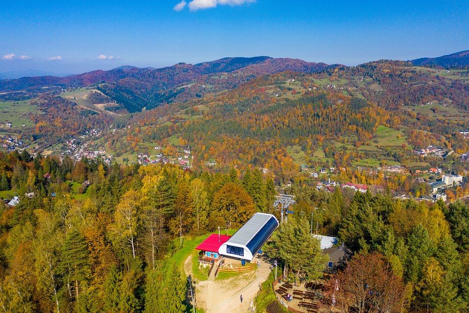 Jesień w ośrodku PKL Palenica