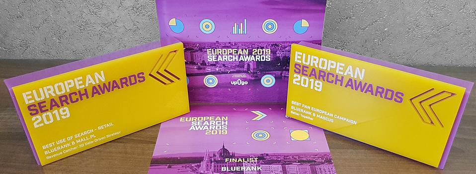 2019 rok, nagrody dla Bluerank w konkursie ESA