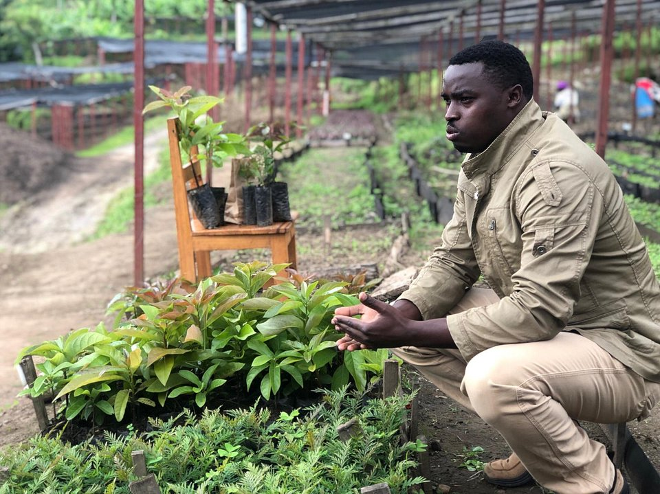 Eric Niyonsaba - Tree Nursery Director