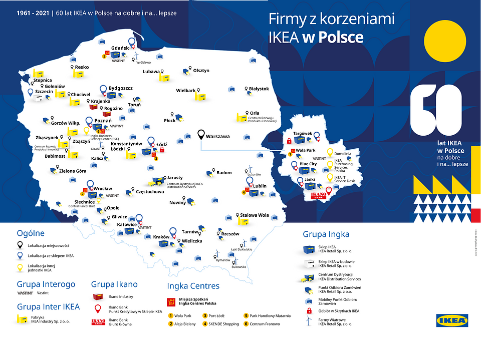 Firmy z korzeniami IKEA w Polsce