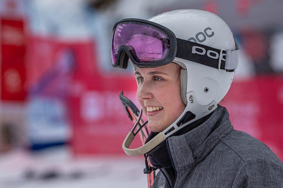 Patrycja Florek - mistrzyni Polski w slalomie