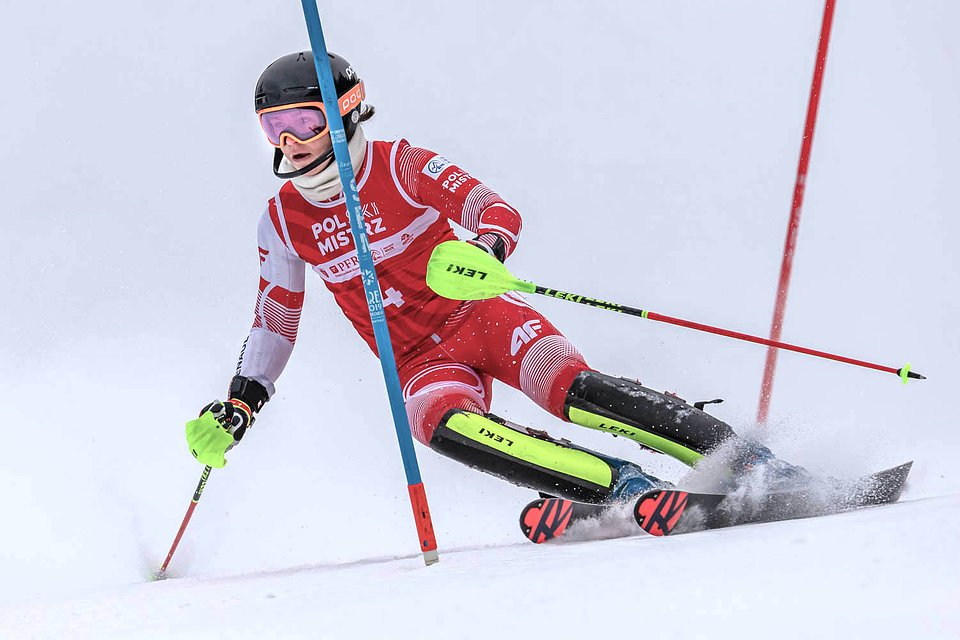 Bartłomiej Sanetra w walce o tytuł Mistrza Polski w kombinacji alpejskiej