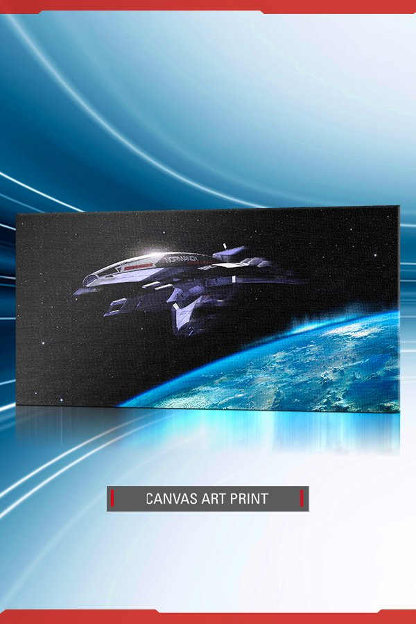 NORMANDY SR-1 CANVAS ART PRINT