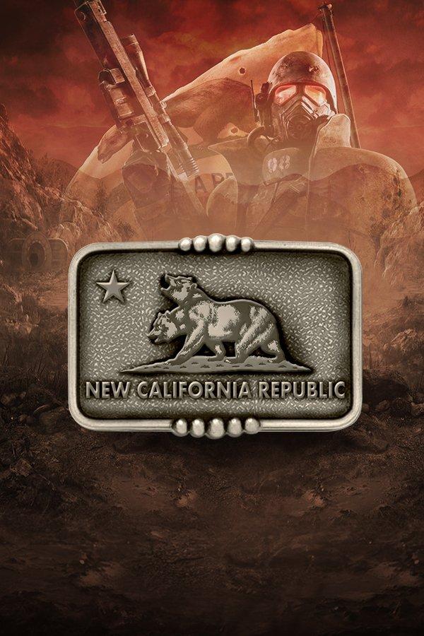 NCR Metal Belt Buckle