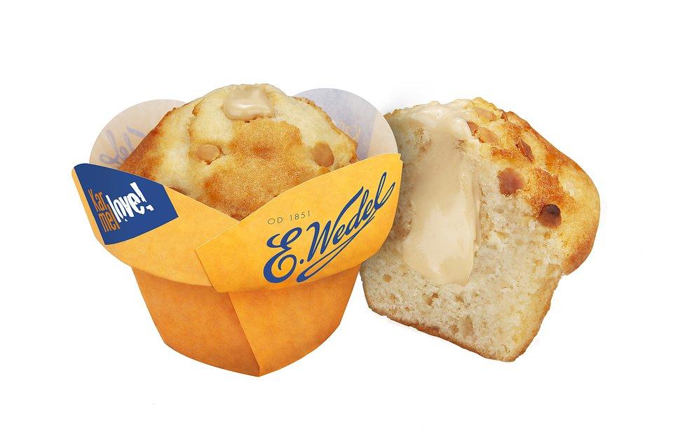 Muffin Karmellove E.Wedel Gramatura: 100 g Sugerowana cena: 2,99 zł