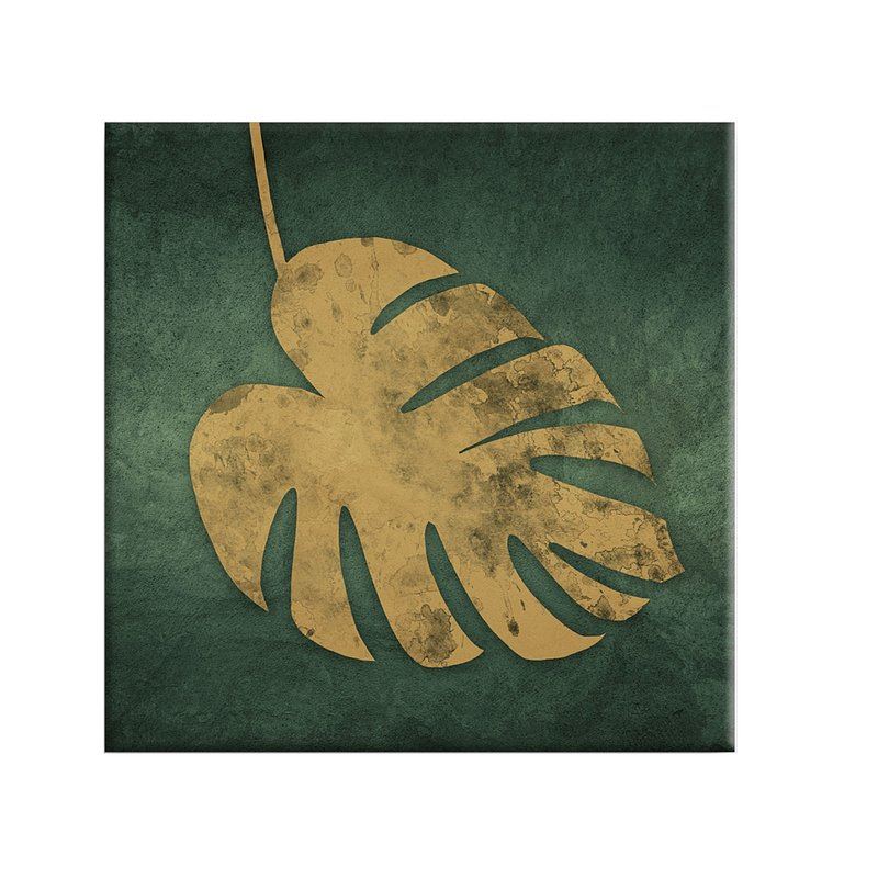 Obraz Canvas Gold Monstera, Salony Agata.jpg