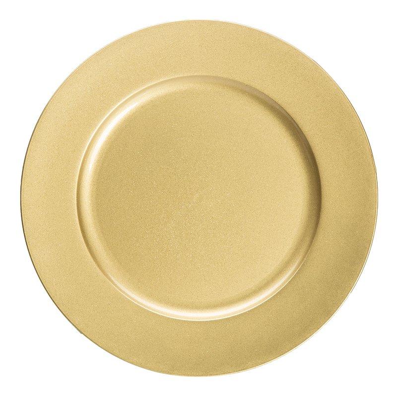 Talerz dekoracyjny złoty, 8,99 zł.jpg